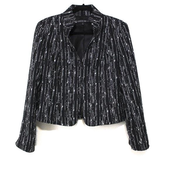 Lafayette 148 New York Jackets & Blazers - LAFAYETTE 148 Specked Vertical Tweed Jacket